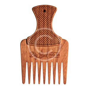 Wooden Beard Comb-1